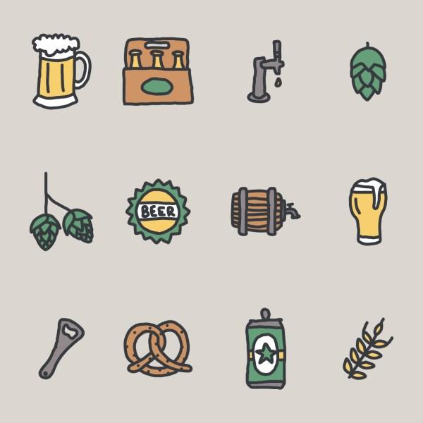 Craft Beer Vector Art