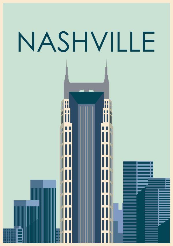 Nashville Free Vector Art - 865