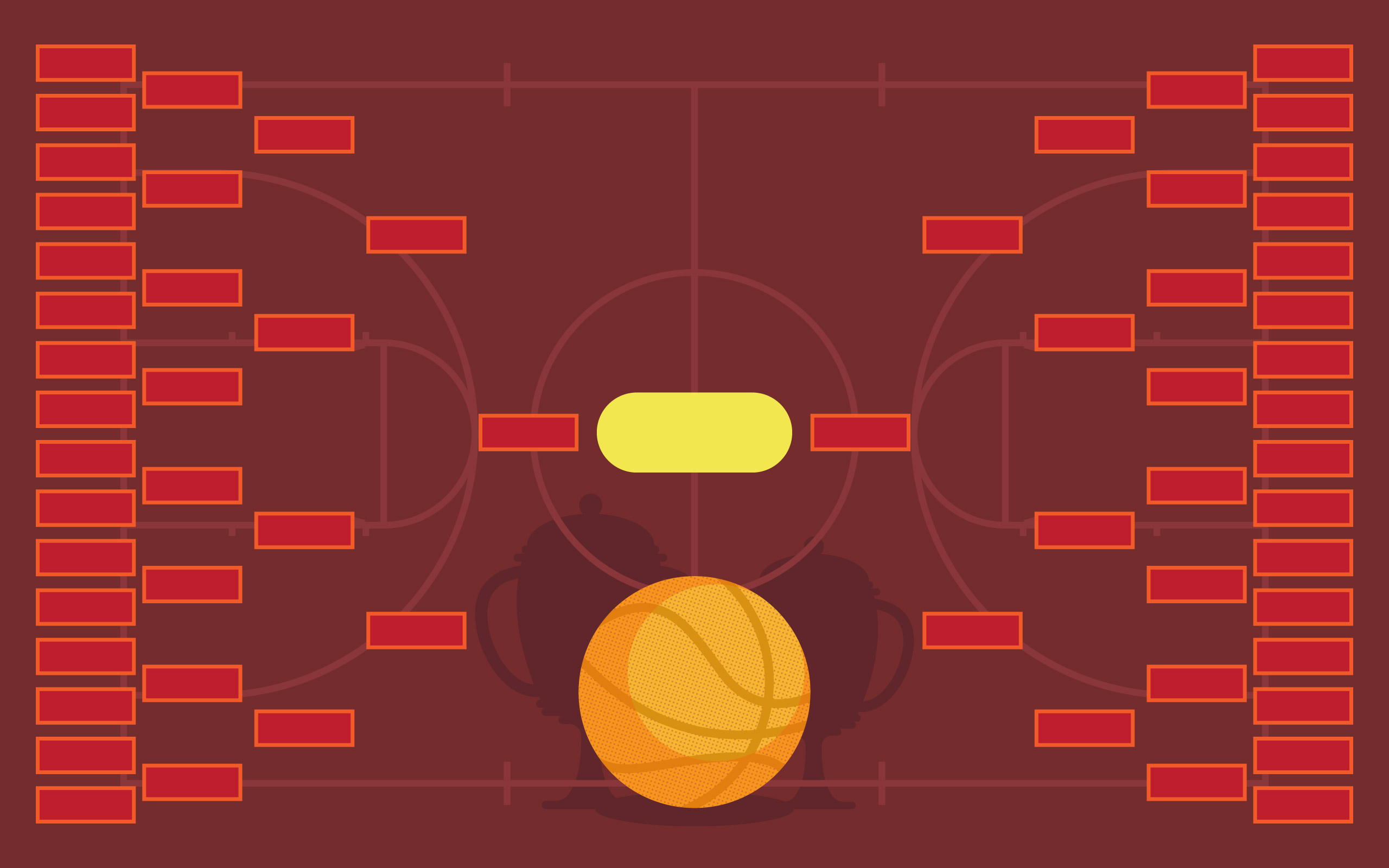 Basketball Tournament Bracket Poster Template - Download Free Vector Art,  Stock Graphics & Images