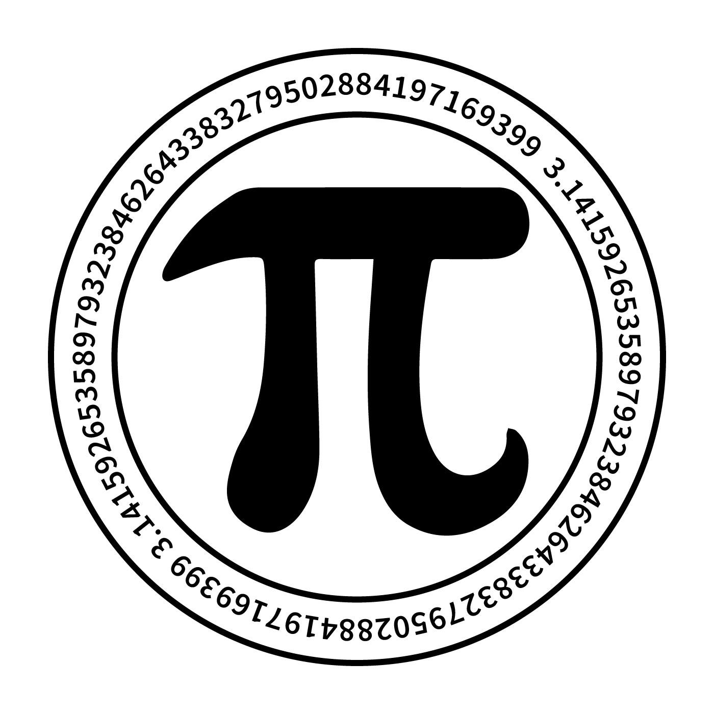Pi Symbol Vector