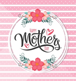 happy mothers day card download free vector art stock graphics images [ 1500 x 1500 Pixel ]