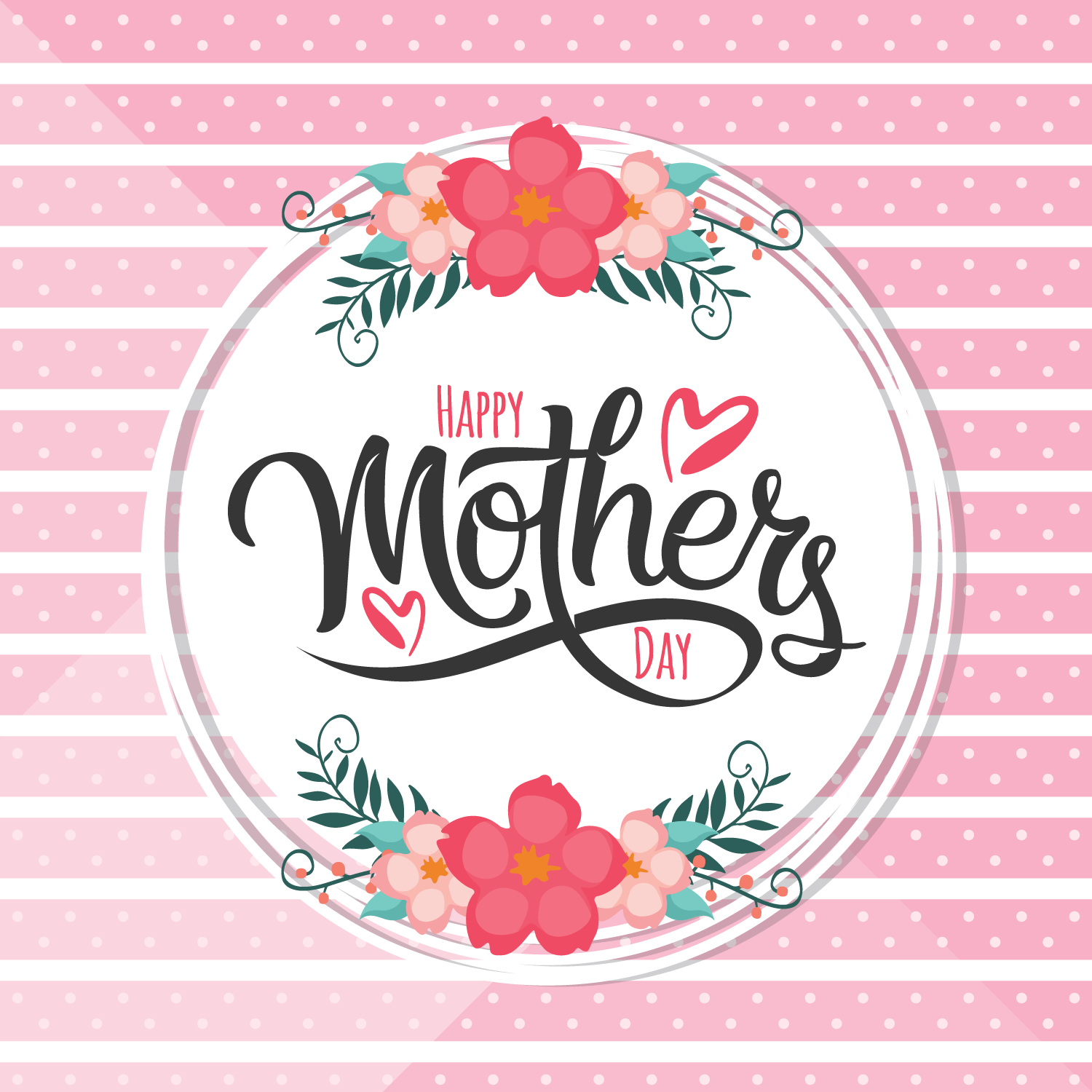 hight resolution of happy mothers day card download free vector art stock graphics images
