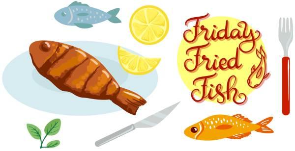 Friday Fish Fry Clip Art