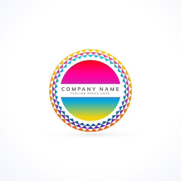 Abstract Vibrant Logo Design Concept - Free