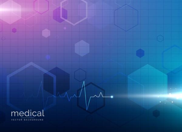 Pharmacy Medical Blue Background