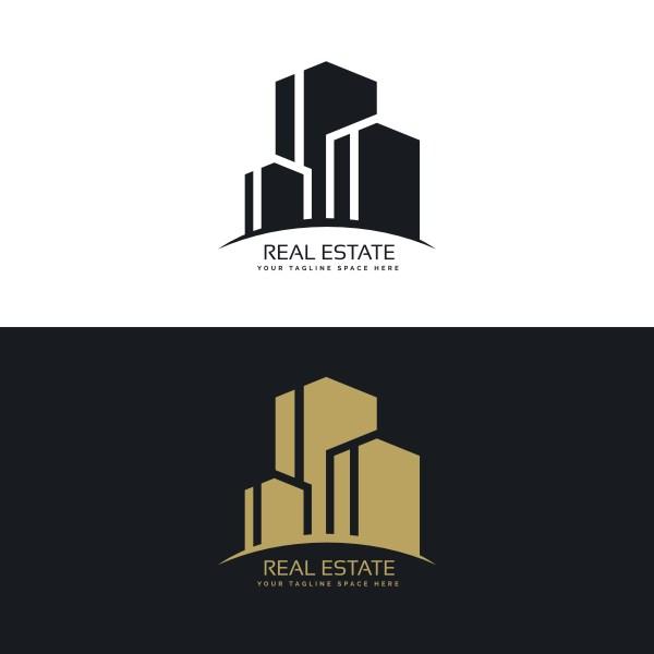 Real Estate Logo Design Concept - Free