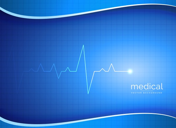 Medical Pharmacy Healthcare Vector Background With