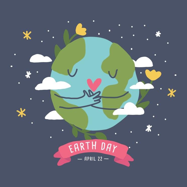 Love The Earth - Download Free Vectors, Clipart Graphics & Vector Art
