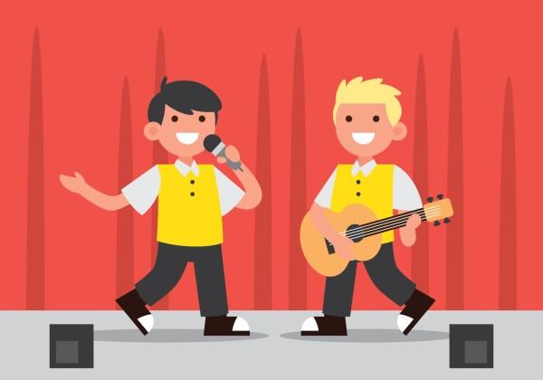 School Talent Show Graphics