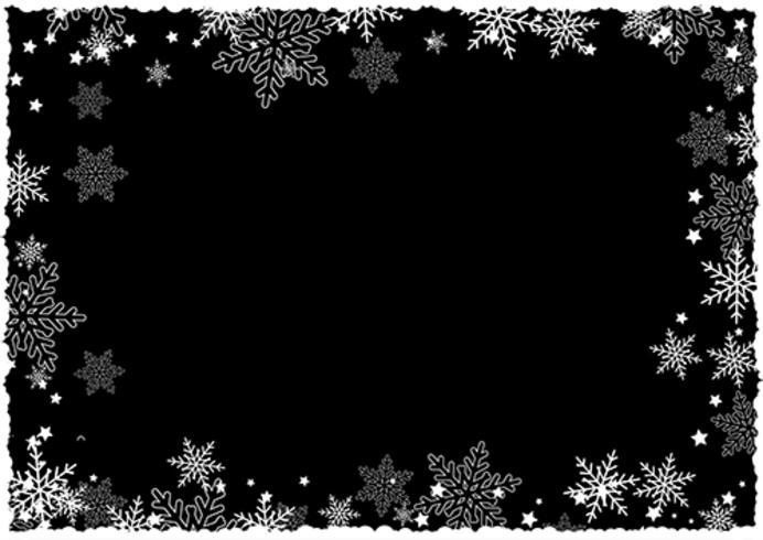 Falling Stars Grunge Wallpaper Christmas Snowflake Border Download Free Vector Art