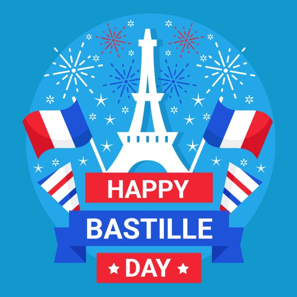 Bastille Day 14 July Vector - Free Art