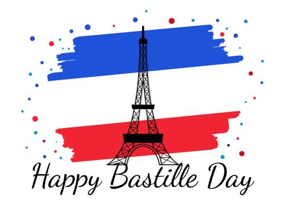 Bastille Day France Vector - Free Art