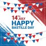 Happy Bastille Day Background Download Free Vectors