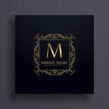 Letter Premium Logo Design Concept Brand