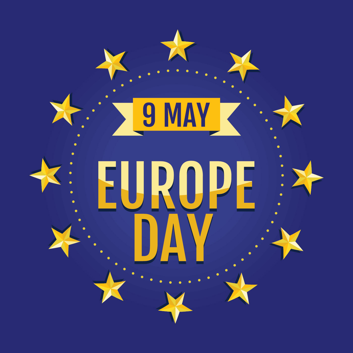 Happy Europe Day Template Download Free Vector Art Stock Graphics Amp Images