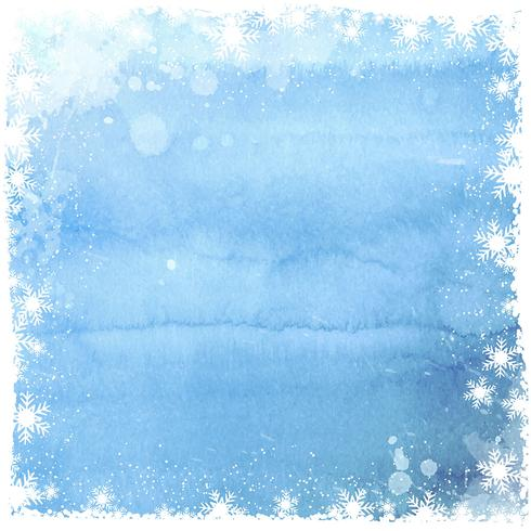 Free Christmas Falling Snow Wallpaper Watercolor Christmas Snowflake Background Download Free