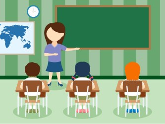 Teaching Teacher And Student Clipart
