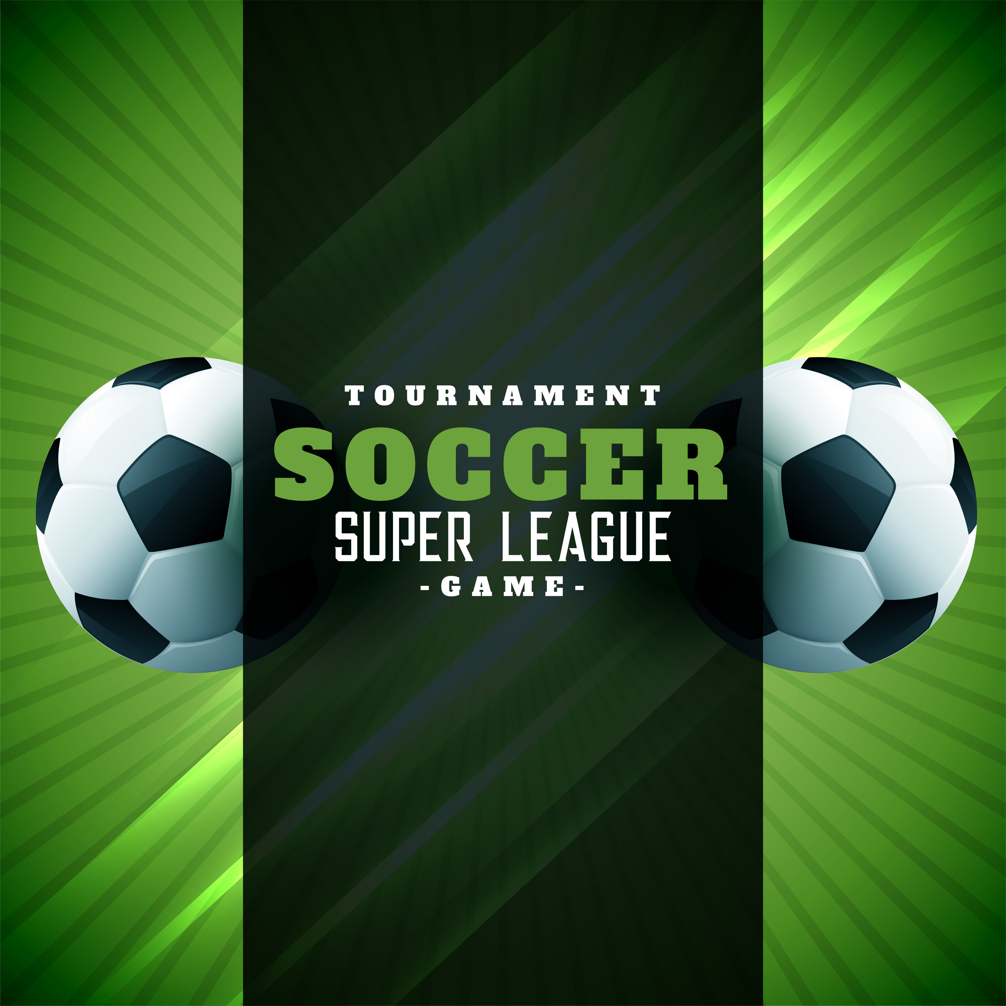 Football Poster Design Green Background Download Free