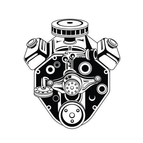 V8 Engine Vector Rotary Engine Vector Wiring Diagram ~ Odicis