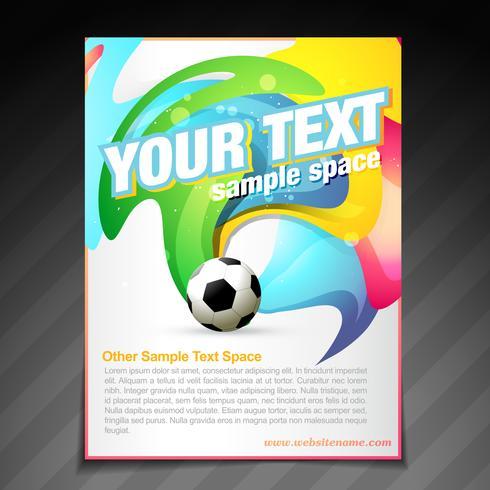 football brochure flyer poster template design - Download Free ...