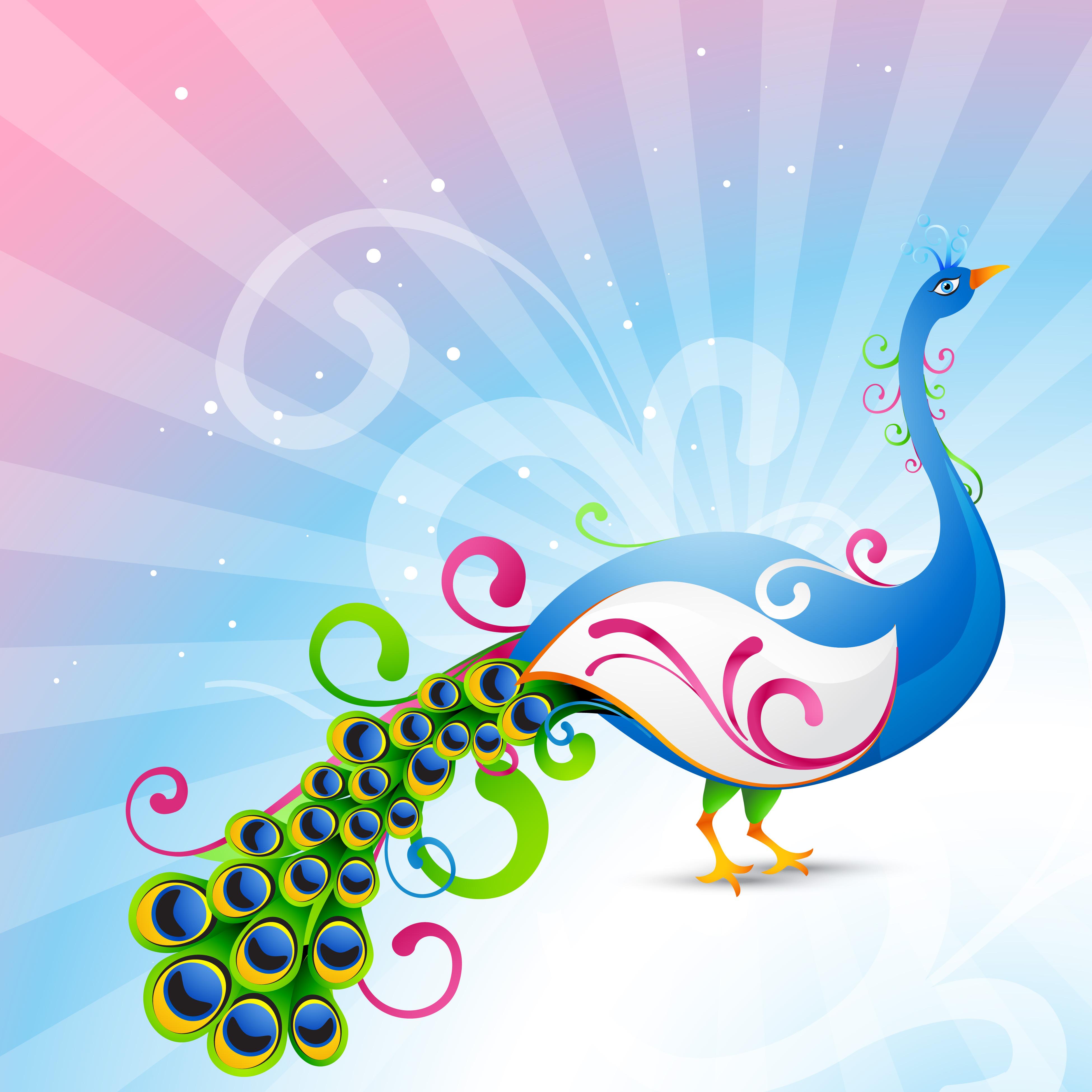 artistic vector peacock - Download Free Vectors. Clipart Graphics & Vector Art