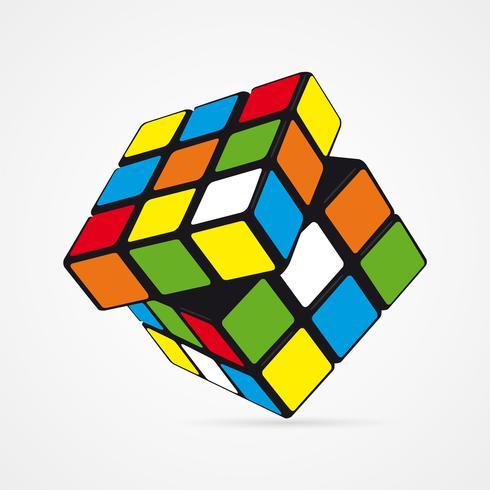 vector rubik s cube