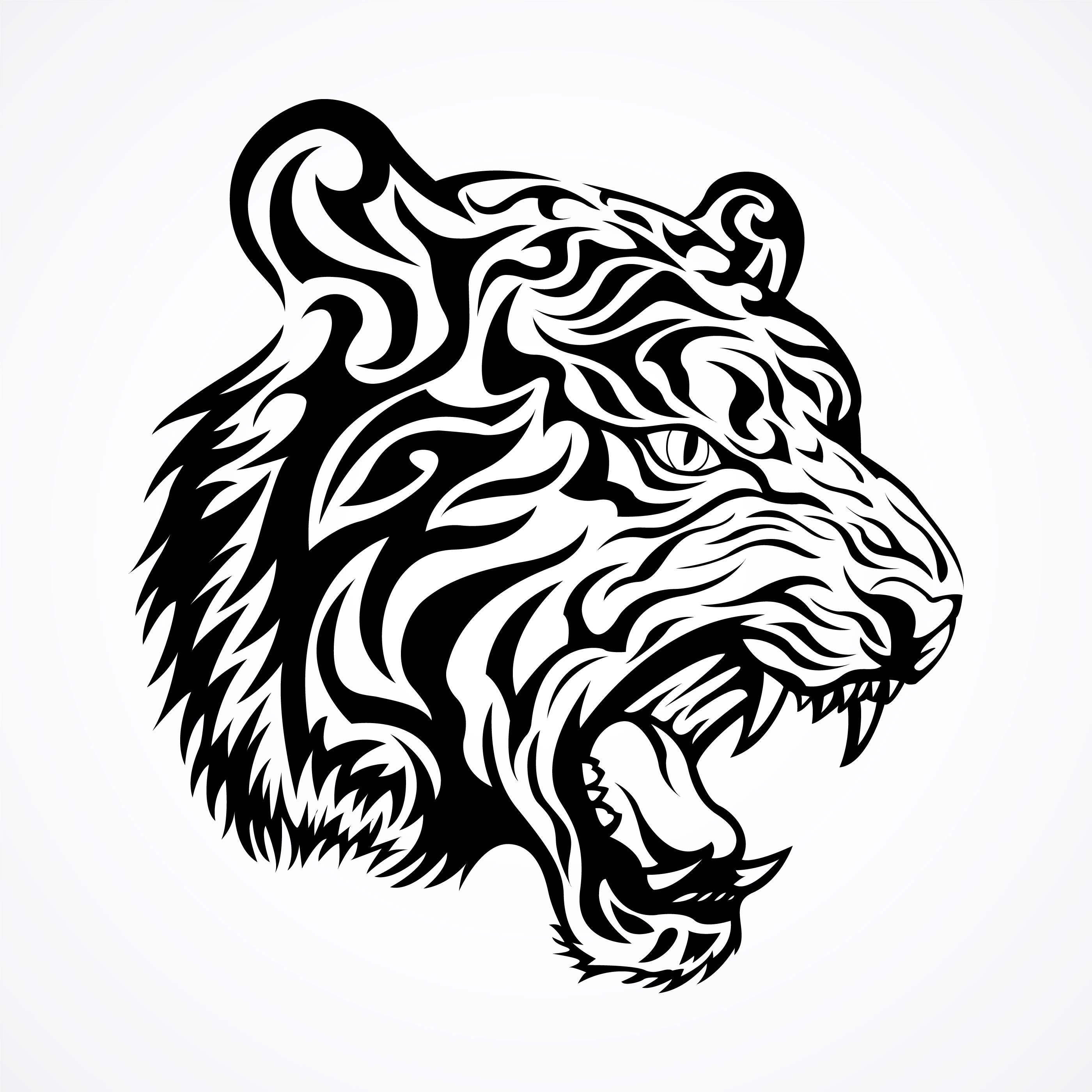 Tiger Free Vector Art