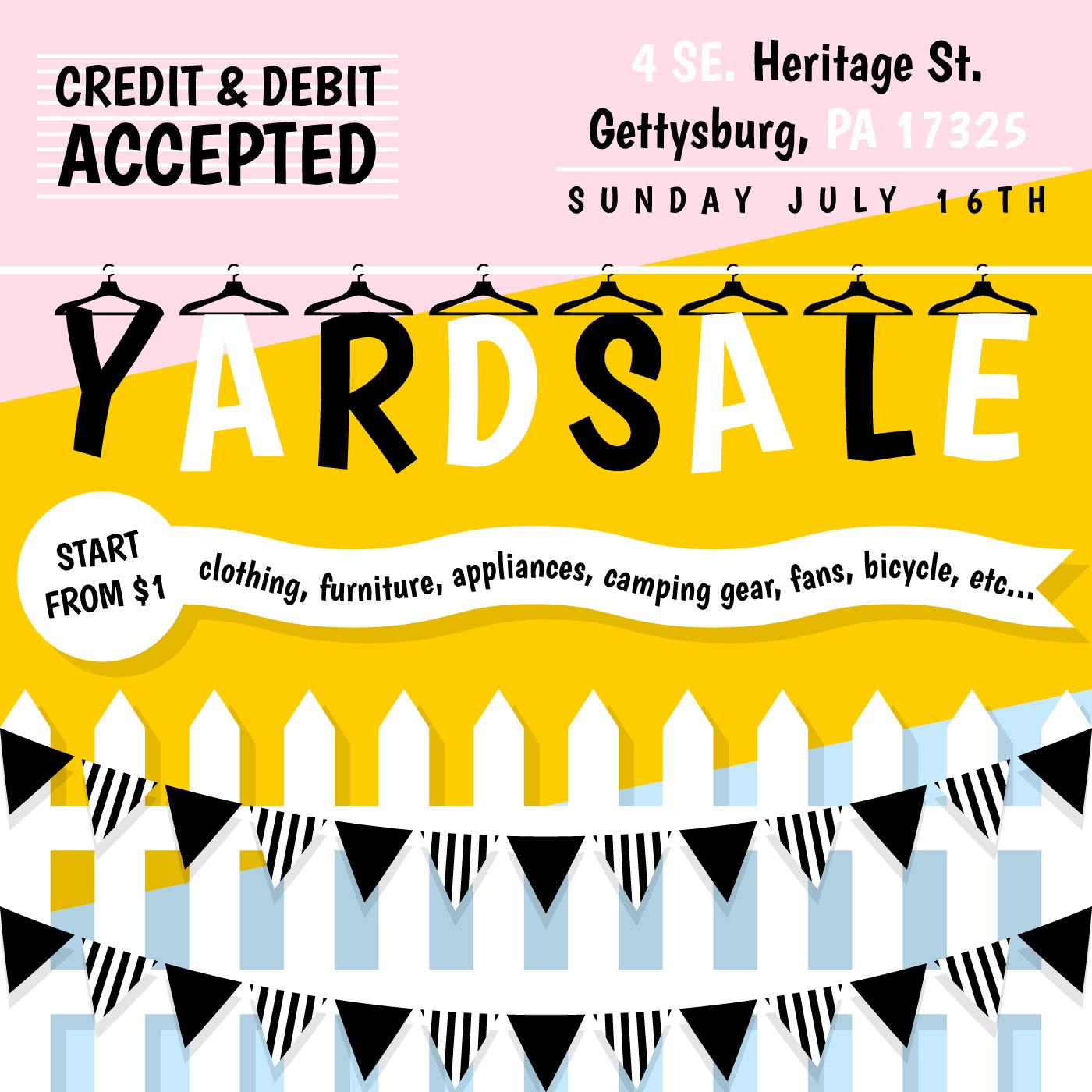 free yard sale signs