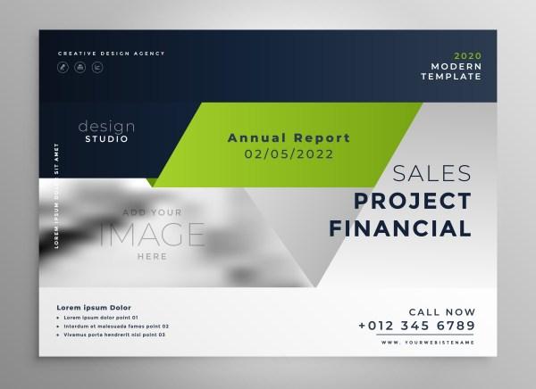 Creative Professional Green Business Brochure Template