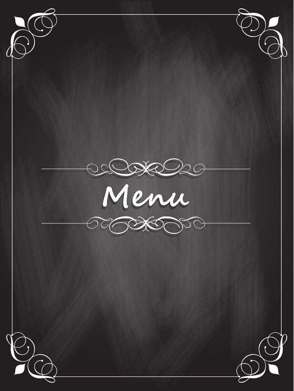 Chalkboard Menu Design - Free Vectors Clipart