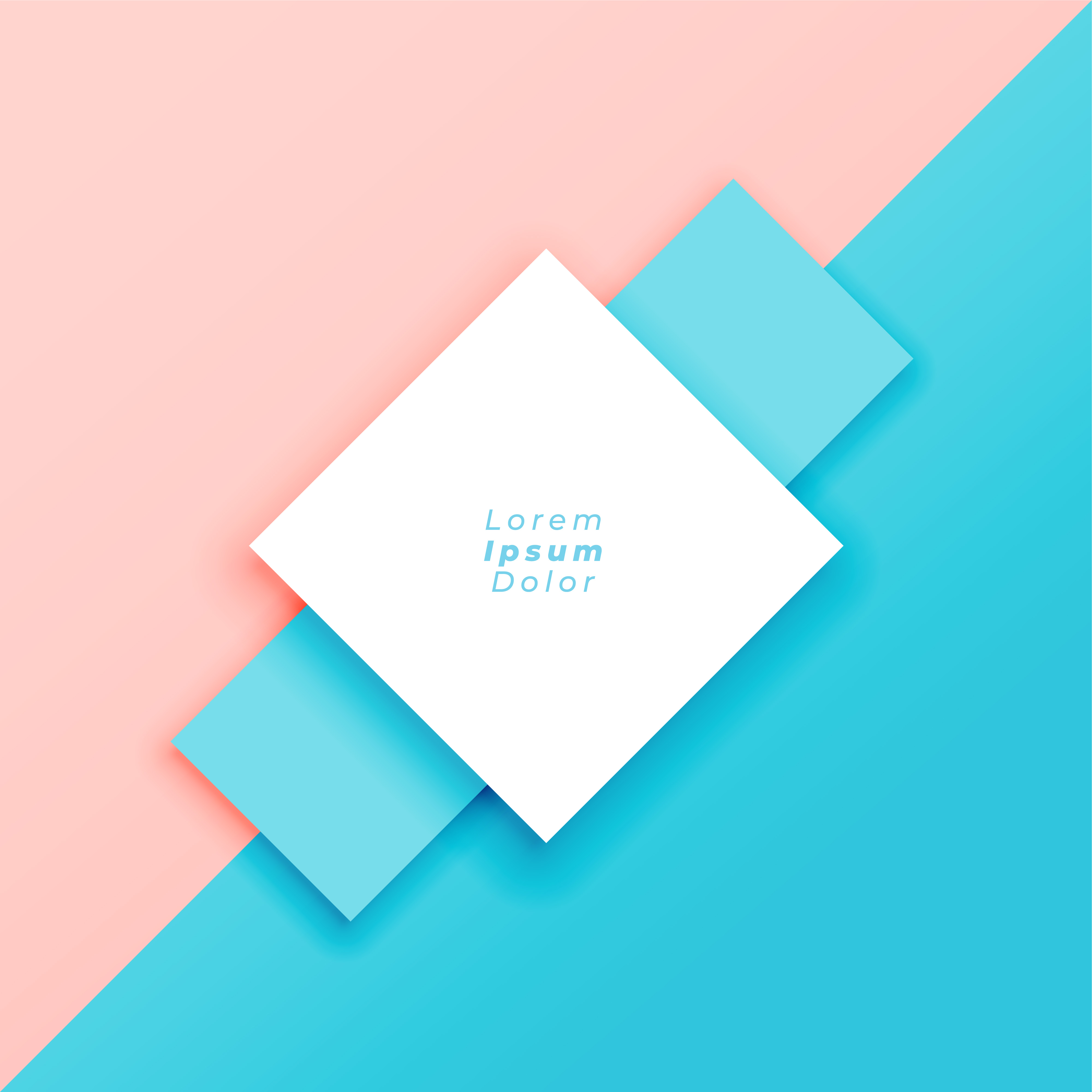 Cute Diamonds Wallpaper Minimal Pastel Background With Text Space Download Free