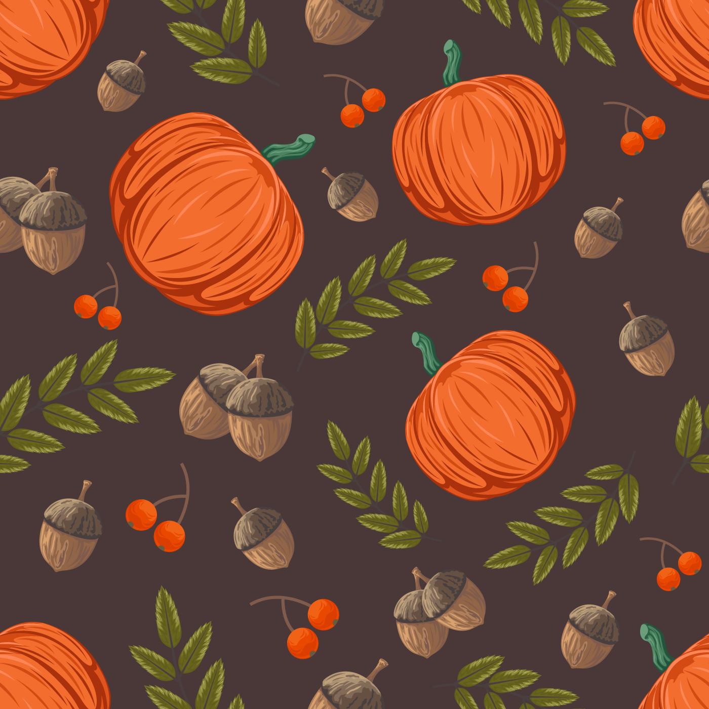 Fall Sunflower Wallpaper Fall Pattern Download Free Vector Art Stock Graphics