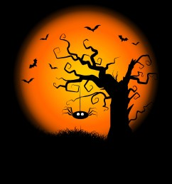 spooky halloween tree background download free vector art stock graphics images [ 4724 x 4732 Pixel ]