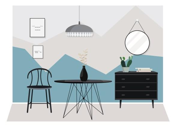 Modern Furniture Free Vector Art - 23854