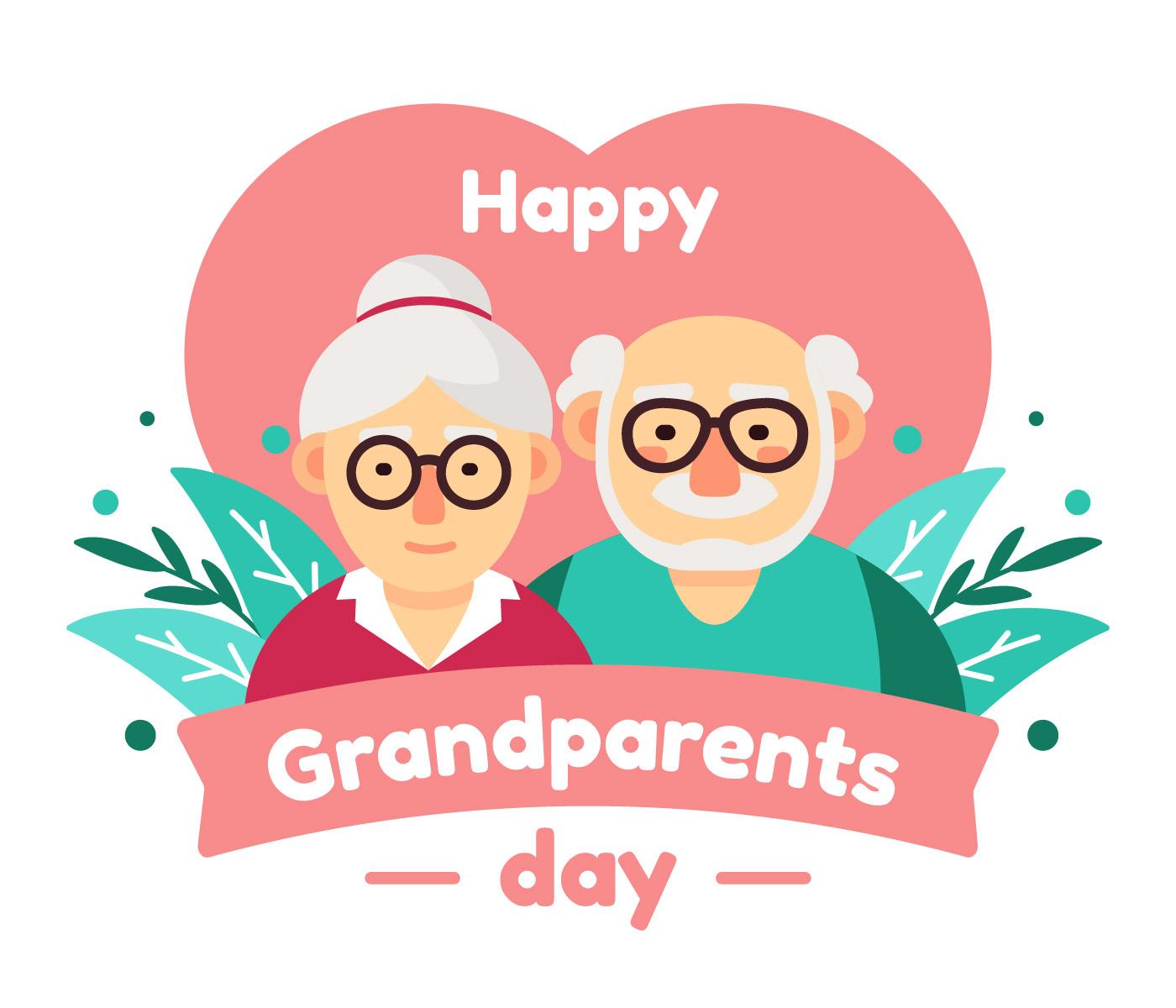 Happy Grandparents Day Vector Download Free Vectors Clipart Graphics Vector Art