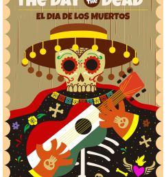 day of the dead clipart [ 2480 x 3508 Pixel ]