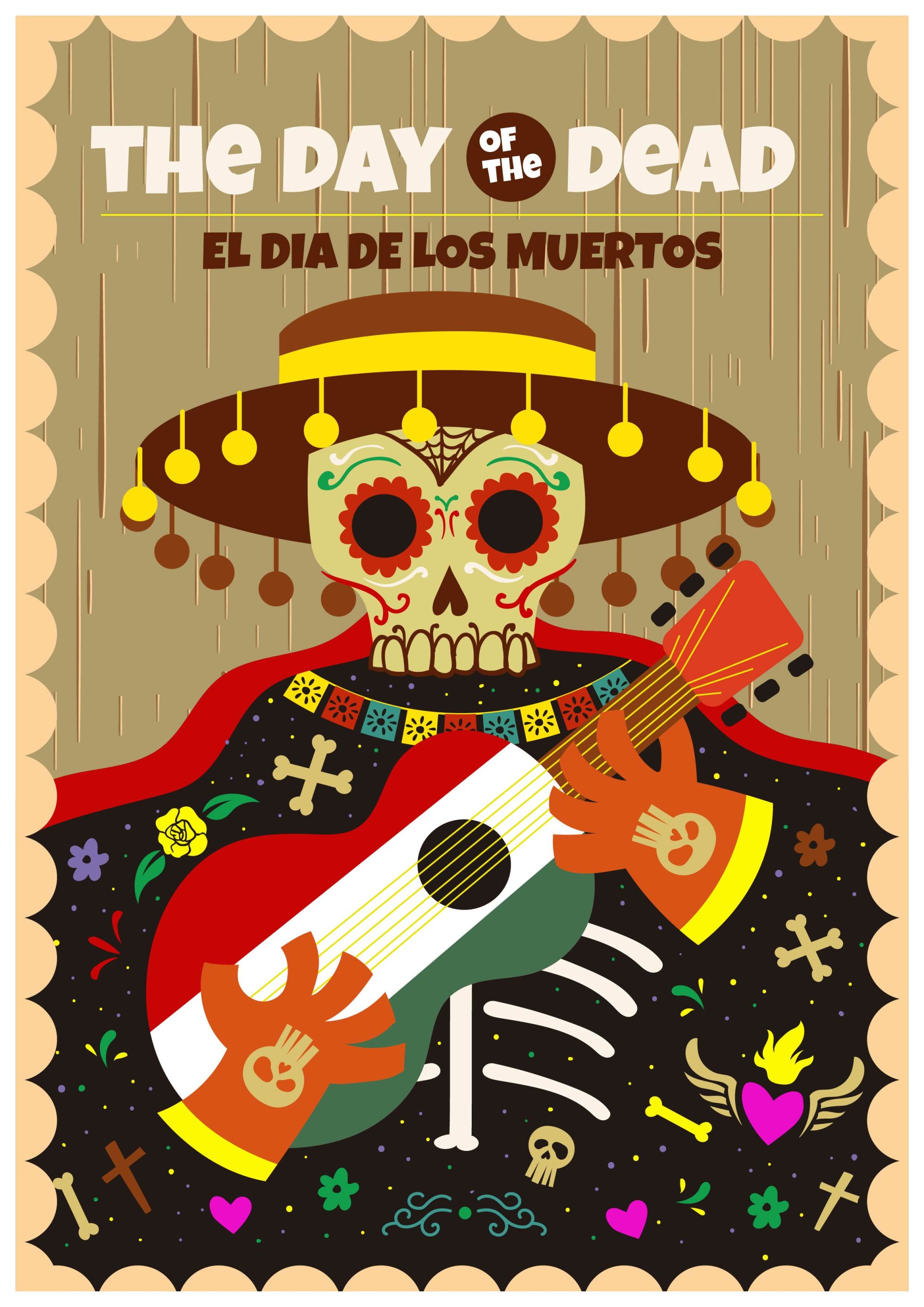 hight resolution of day of the dead clipart