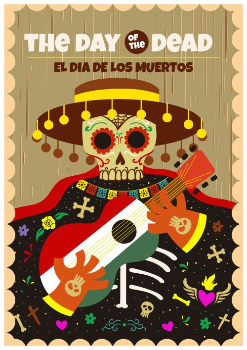 small resolution of day of the dead clipart