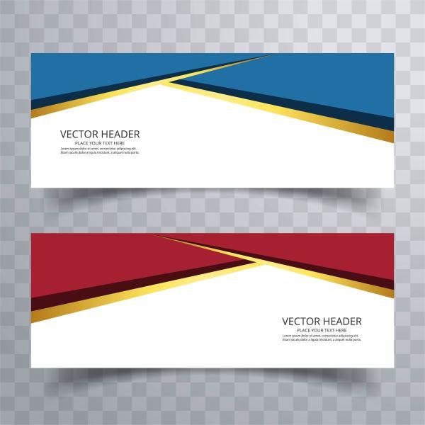 Banner Background Modern Template Design - Free Vector Art Stock Graphics &