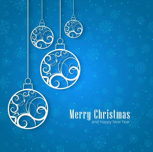 Christmas Balls Blue Background Download Free Vector Art
