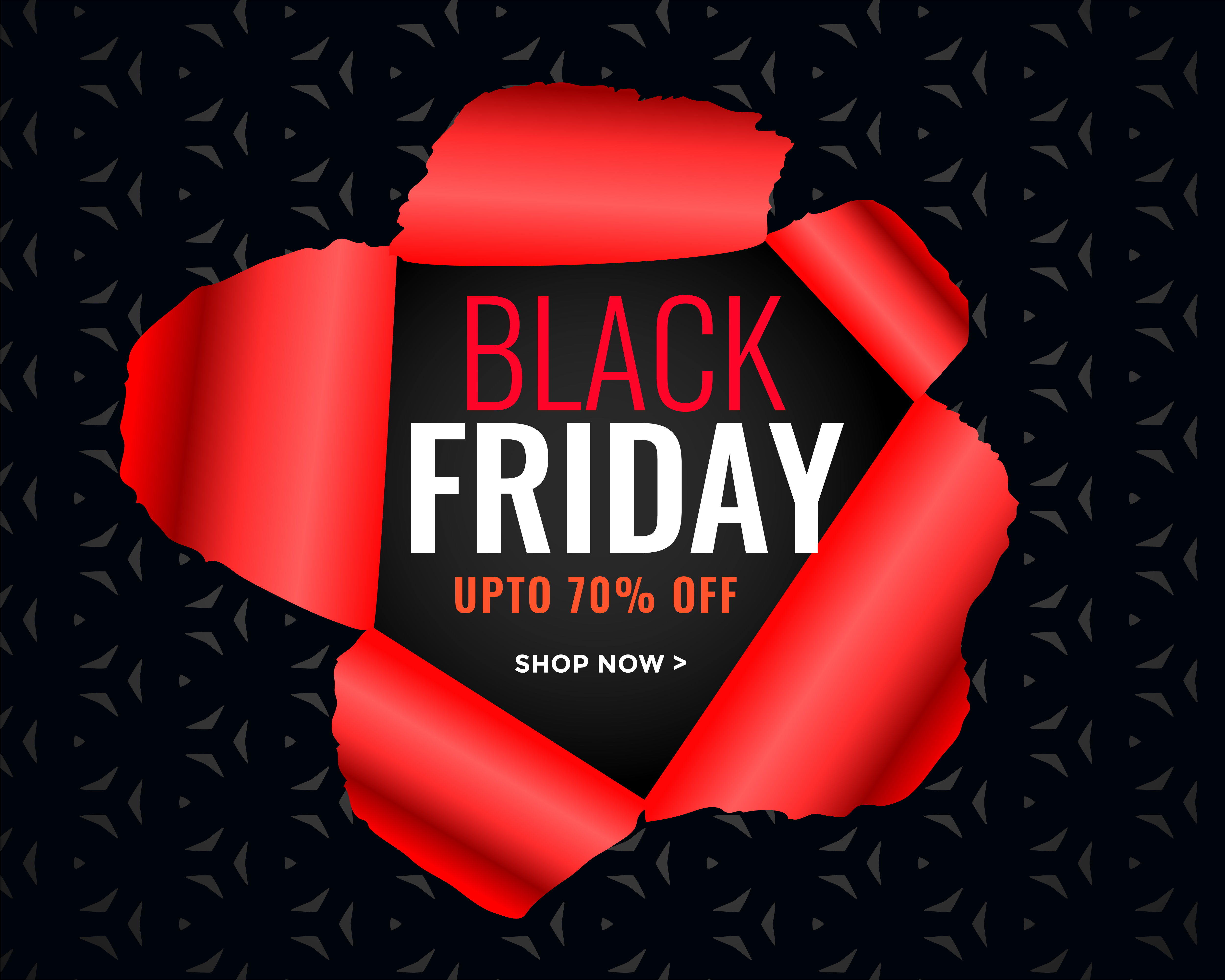Black Friday ? Black Friday Sale Poster In Torn Paper Style - Download ...