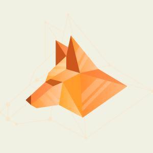 geometric simple shape vector flat illustration fox abstract creative vecteezy animals vectors pine cones animal geometrical elements clipart graphics pattern