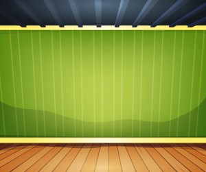 empty cartoon vector wall clipart wood striped corner office interior clip ceiling living drawing illustration vectors vecteezy behind baseboard illustrations