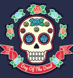 day of the dead vector illustration download free vector art stock graphics images [ 1400 x 980 Pixel ]