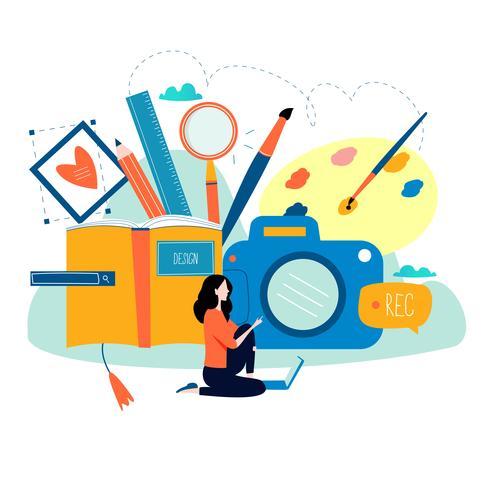 design studio vector download