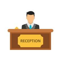 Reception Vector Icon - Free Vectors Clipart