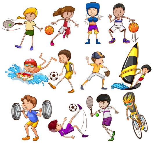 Sports - Download Free Vectors. Clipart Graphics & Vector Art