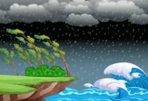 Stormy Sky Free Vector Art - 8081