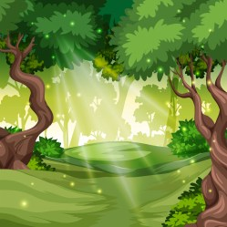 A green forest background Download Free Vectors Clipart Graphics & Vector Art