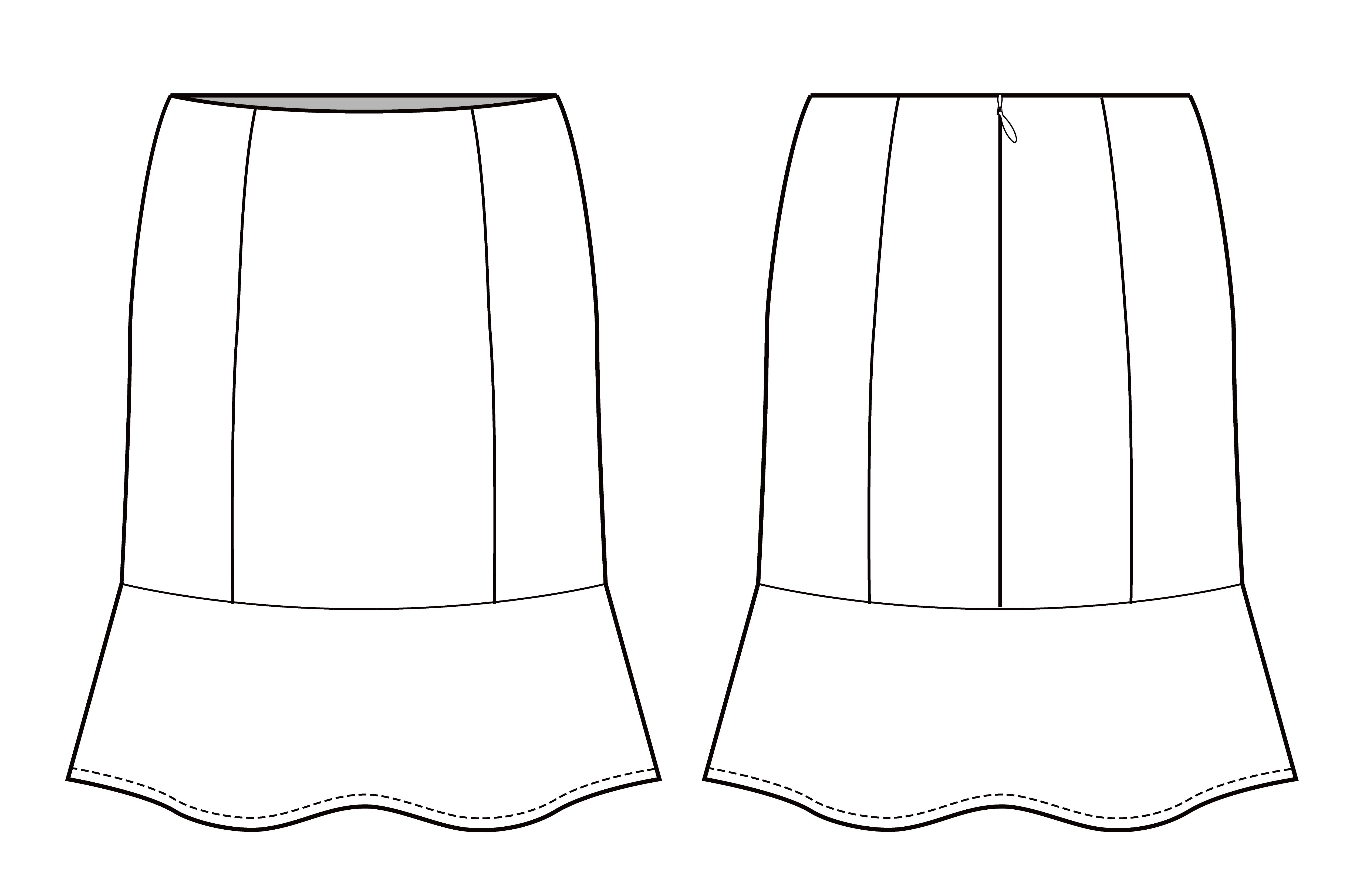 fashion sketches template
